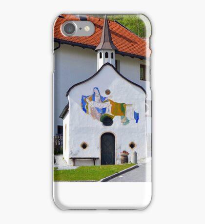 Small chapel in Telfs, Tyrol, Austria iPhone Case/Skin