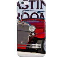 1930 Ford Model A Roadster 'Tasting Room' iPhone Case/Skin
