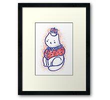 King cat Framed Print