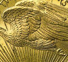 USA Gold $20 Coin Sticker