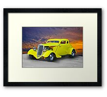 1934 Ford 'Chopped Top' Coupe III Framed Print