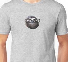 Hipster Sloth Unisex T-Shirt