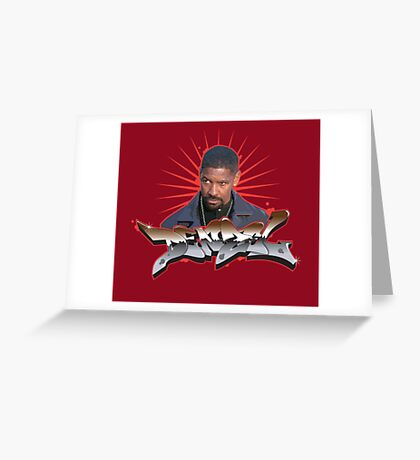 Denzel Washington Greeting Card