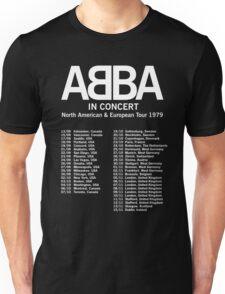 ABBA 1979 Tour Unisex T-Shirt