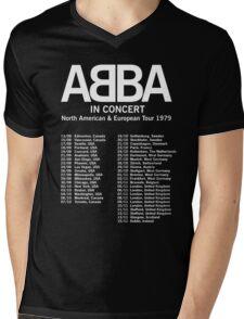 ABBA 1979 Tour Mens V-Neck T-Shirt