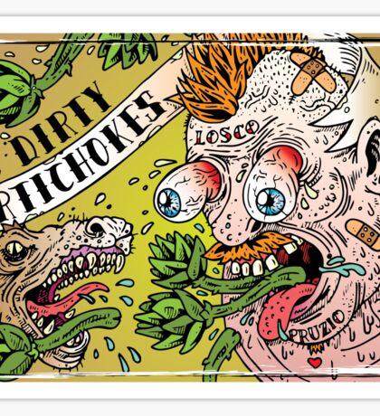 Dirty Argh Sticker