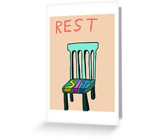 Rest Greeting Card