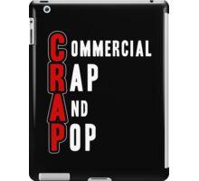 CRAP - White iPad Case/Skin