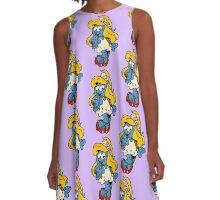Smurfette by WRTISTIK A-Line Dress