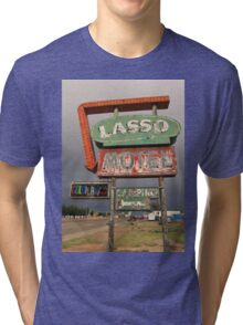 Lasso Motel Tri-blend T-Shirt