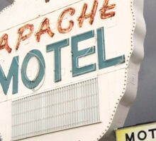 Apache Motel Sticker