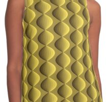 Gold garland pattern Contrast Tank