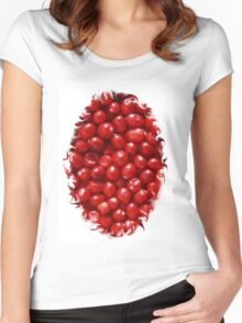Cranberry Ville Women's Fitted Scoop T-Shirt
