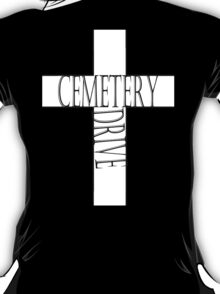 My Chemical Romance Poster Cemetery Drive T-Shirt