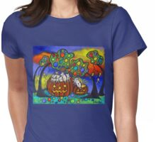 Autumn Celebration II Womens Fitted T-Shirt