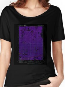 USGS TOPO Map Alaska AK Anchorage C-8 NE 353634 1979 25000 Inverted Women's Relaxed Fit T-Shirt