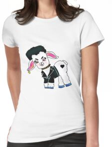 Bad Lamb Womens Fitted T-Shirt