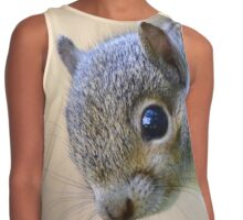 Baby Grey Squirrel Contrast Tank