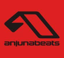Music-Anjunabeats black Kids Tee