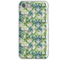 green gothic iPhone Case/Skin