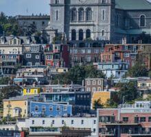 Colourful St. John's, Newfoundland Sticker