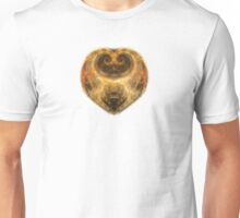 Heart on Fire - white Unisex T-Shirt