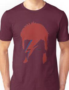 David bowie T-shirt - red hair  Unisex T-Shirt