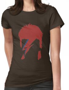 David bowie T-shirt - red hair  Womens Fitted T-Shirt