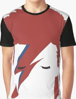 David bowie T-shirt - red hair  Graphic T-Shirt