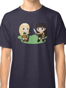 Geek Babies: Xena & Gabrielle Classic T-Shirt