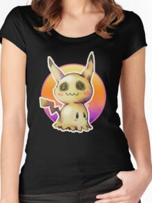 Mimikkyu (Pokémon) Women's Fitted Scoop T-Shirt
