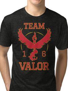 Team Valor Pokemon Go Tri-blend T-Shirt