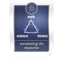 Big Bang Theory - Math, science, history, unraveling the mystery, Poster