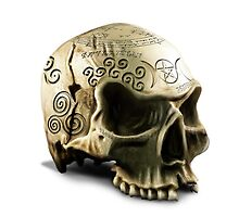 Witchcraft Skull by simonbreeze