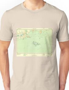 USGS TOPO Map Alaska AK False Pass 360854 1949 250000 T-Shirt