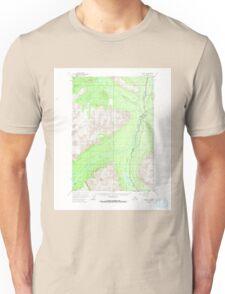 USGS TOPO Map Alaska AK Valdez C-4 360352 1951 63360 T-Shirt