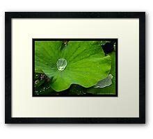 #9.TEARS IN THE RAIN Framed Print
