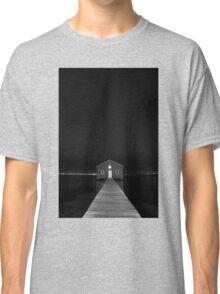 Crawley Edge Boat Shed at Night Classic T-Shirt