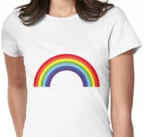 Rainbow / Arc-En-Ciel / Arcoíris / Regenbogen (7 Colors) Womens Fitted T-Shirt