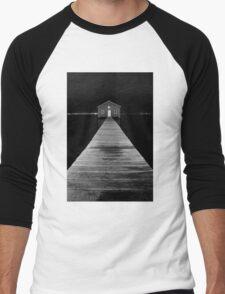 Boat Shed at Night Men's Baseball ¾ T-Shirt