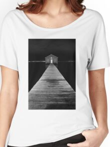 Boat Shed at Night Women's Relaxed Fit T-Shirt