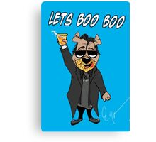 Lets Boo Boo 2 Canvas Print