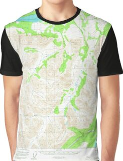 USGS TOPO Map Alaska AK Valdez C-5 360357 1951 63360 Graphic T-Shirt
