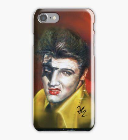 Super Star - Elvis Presley, Star Child makeup illustration case  iPhone Case/Skin