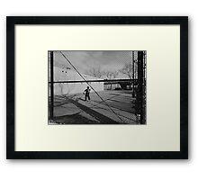 DiMaggio  Framed Print
