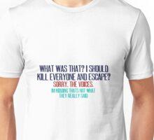 The Voices Unisex T-Shirt