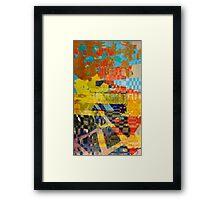 Screen Print #1 Framed Print