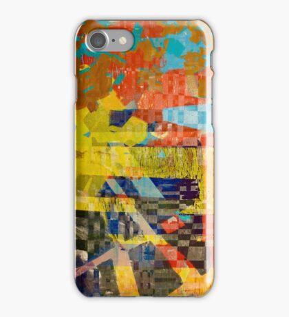 Screen Print #1 iPhone Case/Skin