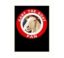 Gary The Goat (Fan) Art Print