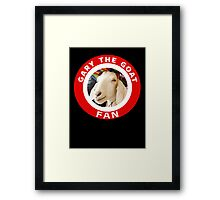 Gary The Goat (Fan) Framed Print